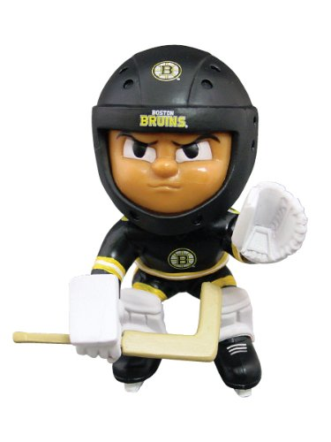 Lil' Teammates Boston Bruins Goalie NHL Figurines (Kids Nhl Boston Bruins Uniform Set)