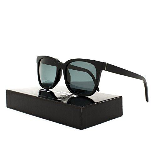RETROSUPERFUTURE Sunglasses People Polarized JVI Black with Grey Zeiss - People Retrosuperfuture Sunglasses