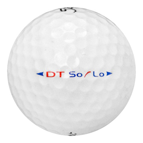 (Titleist DT Solo-Near Mint AAAA Grade-Recycled Used Golf BALLS-50)