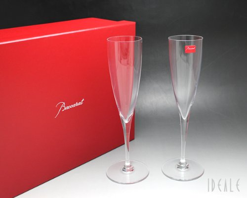 Baccarat (Baccarat) Dom Perignon champagne flute 1845-244 Set of 2 [ outlet ] [ parallel import goods ] ()