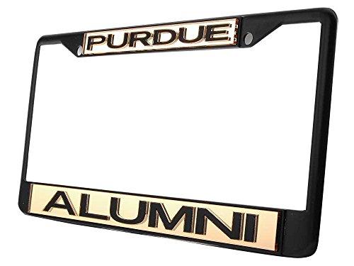 (WinCraft Purdue University S01453 LIC PLT Frame S/L Metallic)