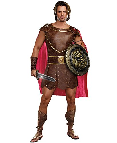 Dreamgirl 9454 Hercules Adult Costume - XXL - Brown