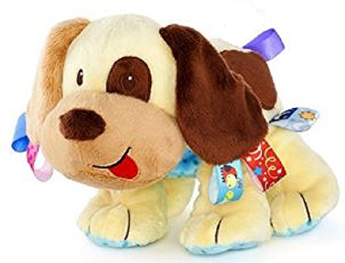 New Cute Plush Baby Puppy with Satin Tags