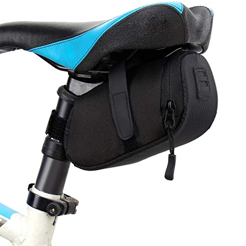 3 Color Nylon Bicycle Bag Bike Waterproof Storage Saddle Bag Seat Cycling Tail Rear Pouch Bag Saddle Accessories,Blue,Other