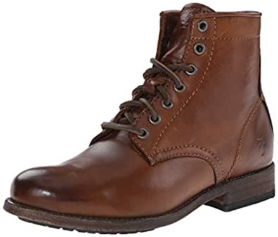 Amazon Com Frye Women S Tyler Lace Up Boot Ankle Amp Bootie
