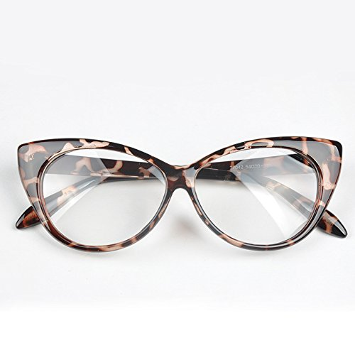 Band New Designer Women Cat Eye SunGlass Frame Vintage Retro Round Eyewear For - Eyeglasses Mens Cartier