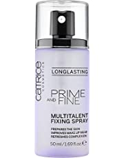 Catrice Prime And Fine Multitalent Fixing Spray, Brown, 50ml