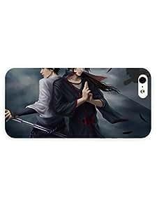 iPhone 5&5S Case - Anime - Itachi And Sasuke Uchiha Naruto 3D Full Wrap