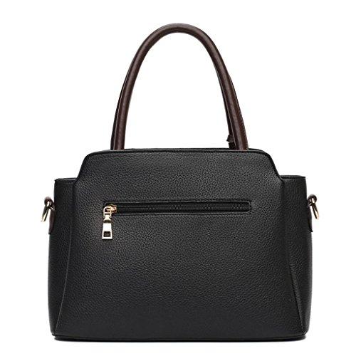 sacchetto borsa la borsa Cinque messaggero unisce del Red colori tracolla black La borsa della di a signora NVBAO acquisto del della qC7S7a