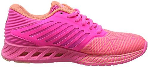 Pink Hot Melba Peach Damen Pink Laufschuhe Asics fuzeX Hot x0wBq76I