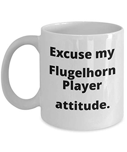 Funny Flugelhorn Player Gift for Jazz Trumpeter Trumpet Teacher Student ()