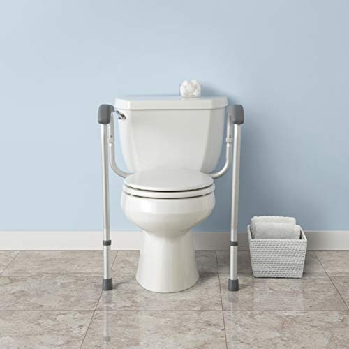 Vive Toilet Seat Riser With Handles Raised Toilet Seat