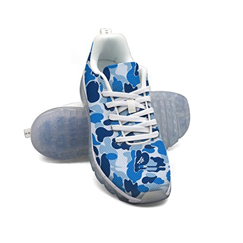FAAERD Camouflage Blue Men's Breathable Mesh Running Shoes Air Cushion Casual Walking Sports Outdoor Sneakers extremely sale online shopping online for sale outlet order best wholesale online largest supplier cheap online kuxogmTN1s