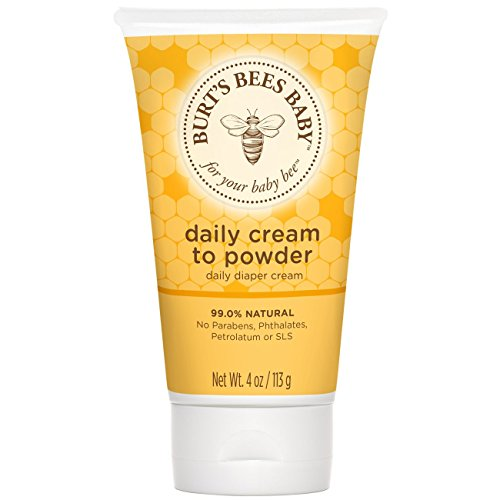 Burt's Bees Baby Daily Cream-To-Powder 4 oz
