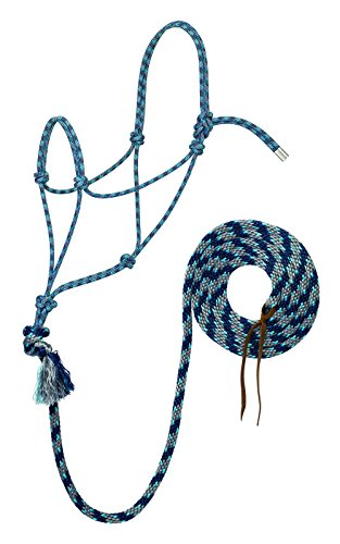Cowboy Lead (Silvertip Weaver Leather No. 95 Rope Halter with 12' Lead)
