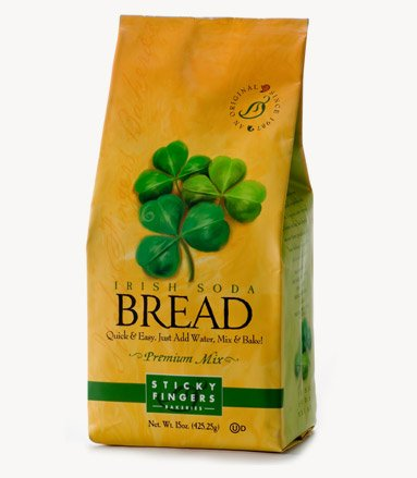 - Pack of 6, 15 oz Sticky Fingers Bakeries Bulk Irish Soda Bread Mix: Just Add Water Gourmet Baking Bread Mix Kit