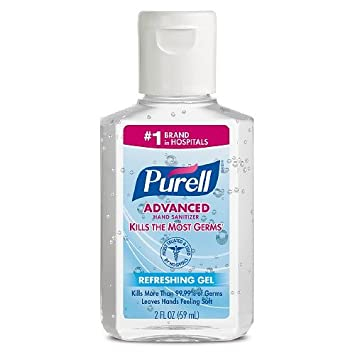 Purell Instant Hand Sanitizer 9 Bottles Of 2 Fl Oz Each Total