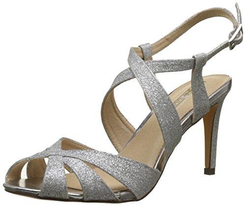 Para Sandalias Silver Descubierta Glitter Rk Buffalo Shoes Plateado Mujer 1610 de 128 Punta w74wzq6x1X