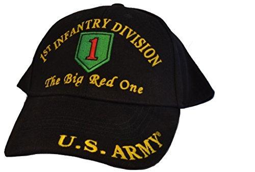 Eagle Emblems Men's 1st Infantry Division Embroidered Ball Cap Adjustable - Cap Infantry Ball Division