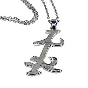 DP Design P768 - Collar con colgante de metal de Runa