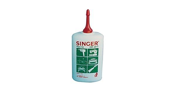 Singer - Aceite lubricante, 125 ml, 24 unidades: Amazon.es ...