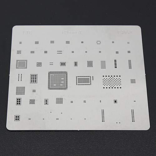 OKIl IC Repair BGA for iPhone 7 Rework Reballing Stencil Template Components