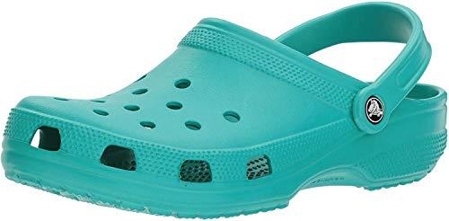 crocs Women's Classic Mule  Tropical Teal - 6 US Men/ 8 US Women M US (Turquoise Crocs Women)