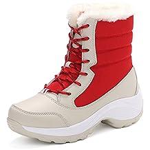 JiYe Women's Shoes Short Snow Boots