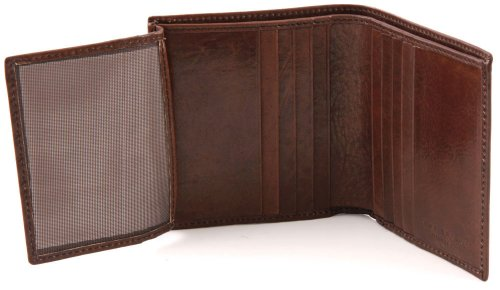 The Bridge Story hombre Porta tarjetas piel 9 cm Braun