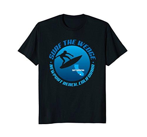 Beach Green Newport - Newport Beach Wedge Surf Spot Barrel Riding T-Shirt