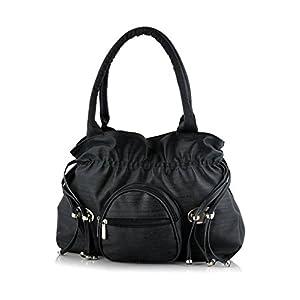 Sleema Fashion Women's Handbag (Sleema Fashion skn12_Black)