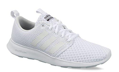 Scarpa Da Corsa Adidas Mens Cf Swift Racer Bianca, Cristallo Bianco S, Carbonio S