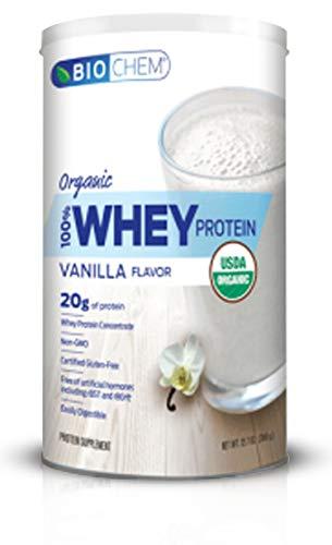 Biochem, Whey Protein Organic Vanilla, 12.7 Ounce
