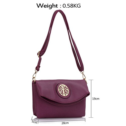 Xardi London, Borsa a spalla donna medium Purple