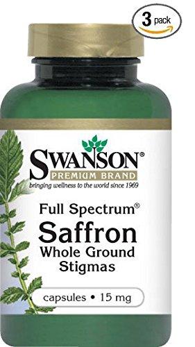 Full Spectrum Saffron 15 mg 60 Caps (3)