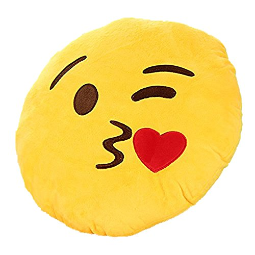 Leegoal Giggle Emoticon Cushion Stuffed