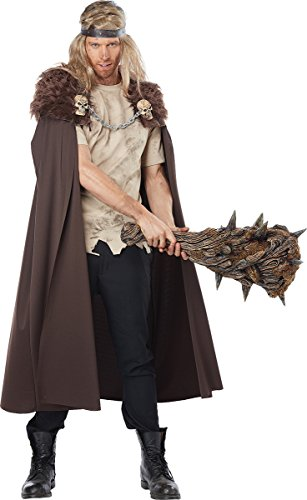 California Costumes Men's Warlord Cape, Brown One Size ()