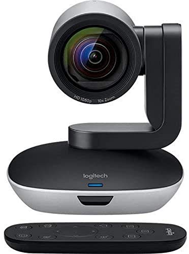 Logitech PTZ PRO 2 Video Camera for Conference Rooms HD 1080p Video Auto focus USB BlackSilver