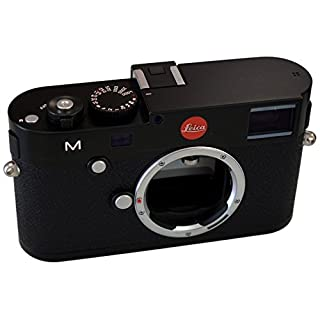 Leica 10770 M 24MP RangeFinder Camera with 3-Inch TFT LCD Screen - Body Only (Black)