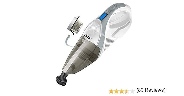 THZY Cordless vacuum, aspirador inalámbrico de mano, Batería de ion de litio funciona con batería, potente portátil pelo de las mascotas al vacío, polvo Busters inalámbrico para casa y coche limpieza: Amazon.es: