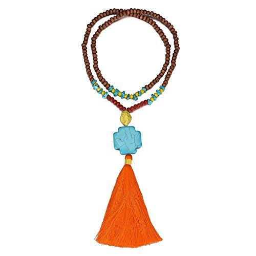 eManco Colorful Statement Necklace Fashion product image