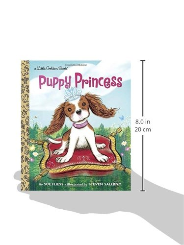 Puppy Princess (Little Golden Book) 3