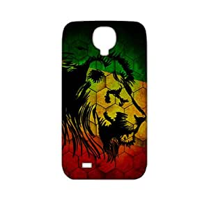 Evil-Store Colorful lion 3D Phone Case for Samsung Galaxy s4
