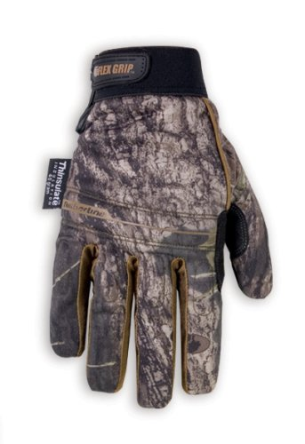 CLC Custom Leathercraft Sportsman Mossy Oak ML125L Timberline Gloves - Size Large - Palm Wood Elastic