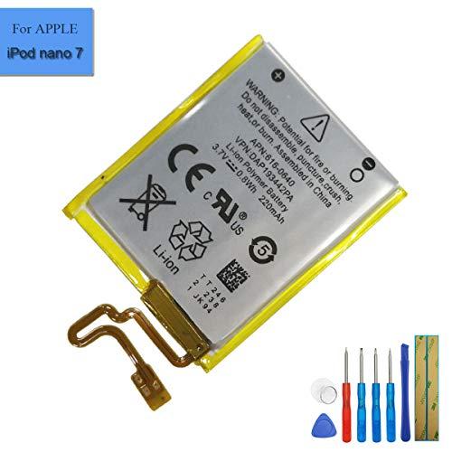 E-YIIVIIL Li-ion Replacement Battery 616-0639 616-0640 Compatible with Apple iPod Nano 5th16G iPod Nano 7 iPod Nano 7th A1446