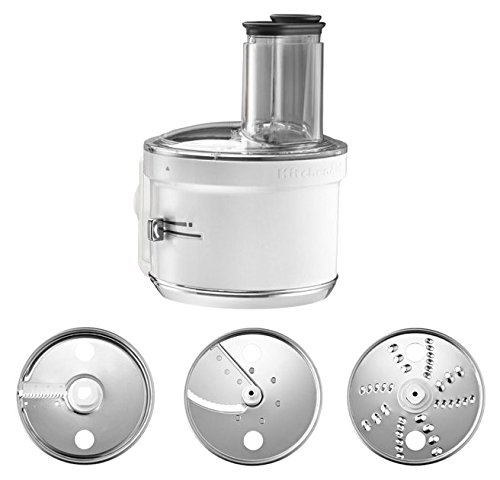KitchenAid Food Processor Stand Mixer Attachment in White by KitchenAid