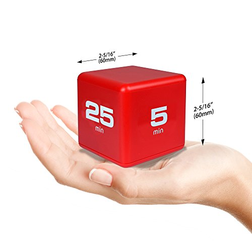 The Miracle TimeCube Timer, 5, 10, 20, 25 Minutes, For
