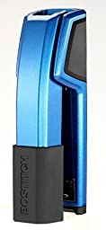 Bostitch Epic  All Metal Antimicrobial Stapler with Integrated Staple Remover and Staple Storage (B777-BLUE)