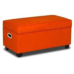Zippity Kids Jack Upholstered Storage Bench -