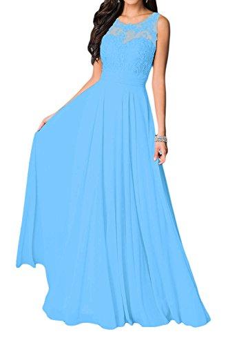 Missdressy - Vestido - trapecio - para mujer Blau 2